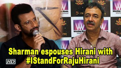 Sharman Joshi espouses Raju Hirani with 'I Stand For Raju Hirani' hashtag