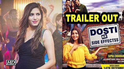 Sapna Choudharys 'Dosti Ke Side Effects TRAILER OUT