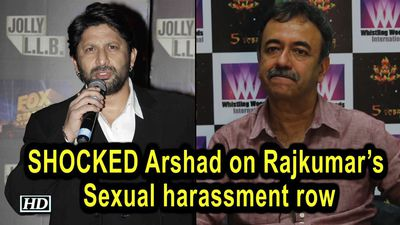 SHOCKED Arshad on Rajkumars Sexual harassment row, How is this possible?