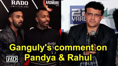 Sourav Ganguly comments on Pandya, Rahul, says people make mistakes