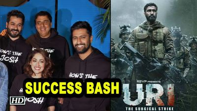 Uri: The Surgical Strike SUCCESS BASH with cast