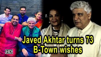 Javed Akhtar turns 73, B-Town wishes the 'magician', 'philosopher'