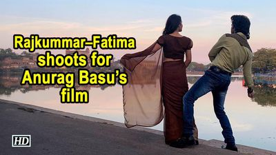Rajkummar Fatima starts shoot for Anurag Basus film
