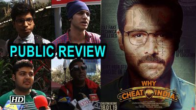 PUBLIC REVIEW | Why Cheat India | Emraan narrates faulty education system