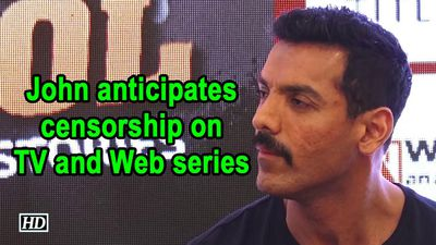 John Abraham anticipates censorship on TV and Web series
