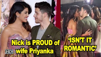 Nick Jonas is PROUD of wife Priyanka ISNT IT ROMANTIC