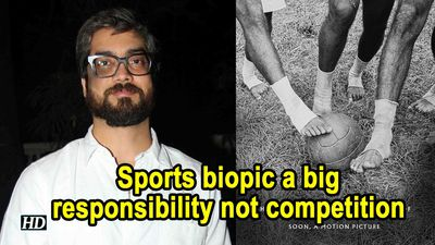 Sports biopic a big responsibility not competition Amit Sharma