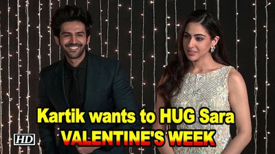 Kartik Aryan wants to HUG Sara Ali Khan Valentines Week