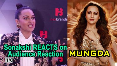Sonakshi REACTS on MUNGDA Remake