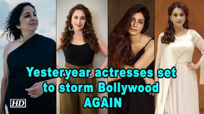 Yesteryear actresses set to storm Bollywood AGAIN