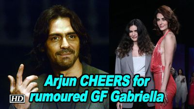 Arjun CHEERS for rumoured GF Gabriella at Pernias Runway Spring Summer19