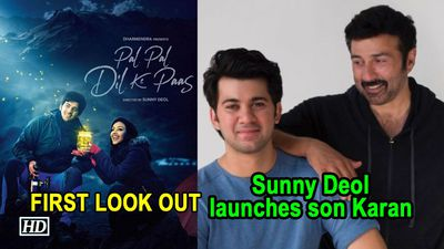 Sunny Deol launches son Karan in Pal Pal Dil Ke Paas FIRST LOOK OUT