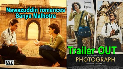Photograph Nawazuddin romances Sanya Malhotra Trailer OUT