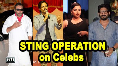 Sting operation Celebs caught agreeing to promote political parties