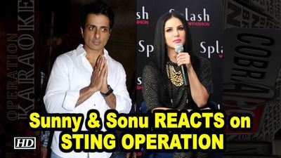 Sunny Leone Sonu Sood REACTS on STING OPERATION