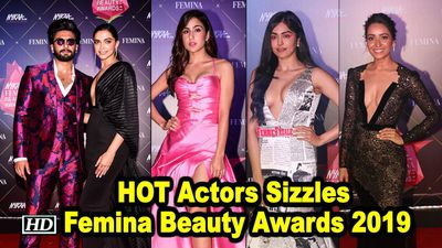 HOT Actors Sizzles at Femina Beauty Awards 2019