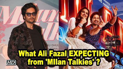 What Ali Fazal EXPECTING from MIlan Talkies