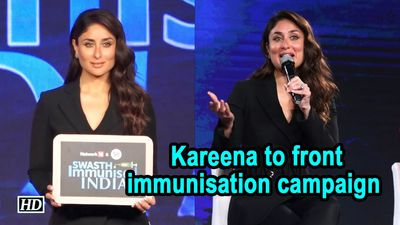 Taimur is my life Kareena Kapoor Khan to front immunisation campaign