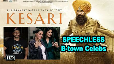 Akshays KESARI TRAILER Btown Celebs are SPEECHLESS STUNNED