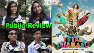 Public Review Total Dhamaal Comic roller coaster with ensemble starcast
