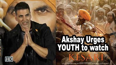 Akshay Kumar Urges YOUTH to watch KESARI