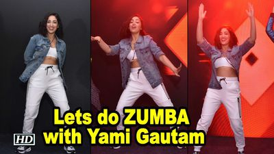 Lets do ZUMBA with Yami Gautam Zumba Expert Gina Grant