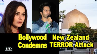 Bollywood Condemns New Zealand TERROR Attack