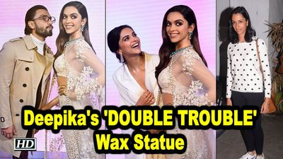 Deepikas wax statue DOUBLE TROUBLE for sister Anisha