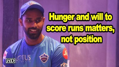 IPL 2019 Hunger and will to score runs matters not position Hanuman Vihari