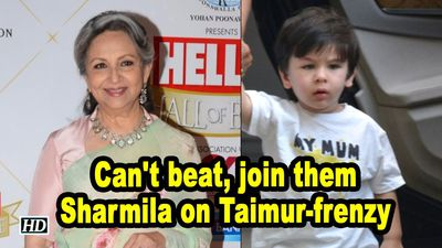Cant beat join them Sharmila on Taimurfrenzy