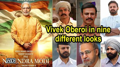 PM Narendra Modi Vivek Oberoi in nine different looks