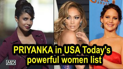 Priyanka Chopra in USA Todays list of 50 most powerful women in entertainment