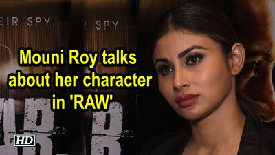 Mouni Roy talks about her character in RAW
