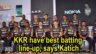 IPL 2019 KKR have best batting lineup says Katich