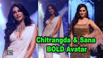 Chitrangda Singh Sana Khan BOLD Avatar Bombay Times Fashion Week