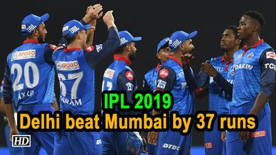 IPL 2019 Match 3 Allround effort helps Delhi beat Mumbai by 37 runs