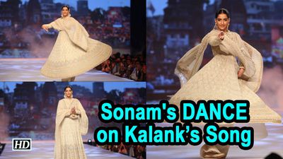Sonams DANCE on Kalanks Ghar More Pardesiya will AMAZE You