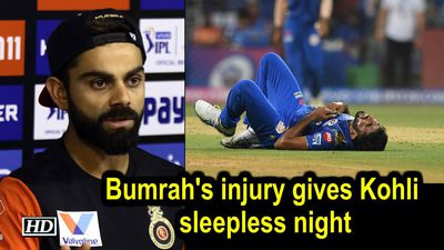 IPL 2019 Bumrahs injury gives Kohli sleepless night pacer fit