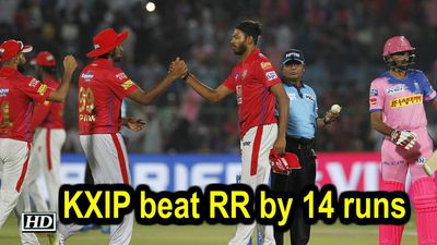 IPL 2019 Match 4 KXIP beat RR by 14 runs