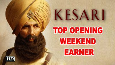 Akshays Kesari is 2019s top opening weekend earner