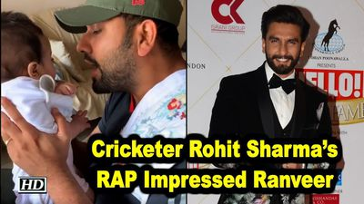 Cricketer Rohit Sharmas RAP Impressed Ranveer Singh