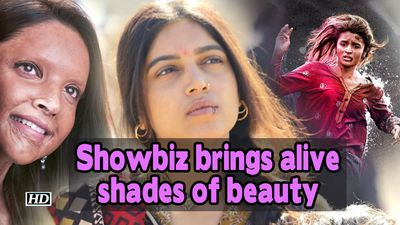 Scars and colour Showbiz brings alive shades of beauty