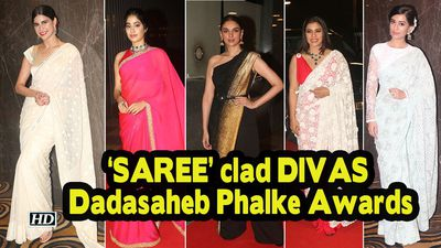 SAREE clad DIVAS steals the show Dadasaheb Phalke Awards 2019