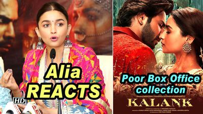 Alia REACTS on KALANKs Poor Box Office collection