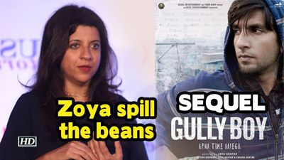 Zoya spill the beans on GULLY BOYs SEQUEL