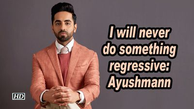 I will never do something regressive ayushmann