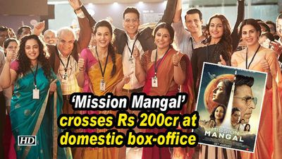 Mission mangal crosses rs 200cr at domestic boxoffice