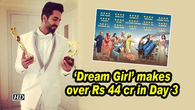 Dream Girl' makes over Rs 44 cr in Day 3