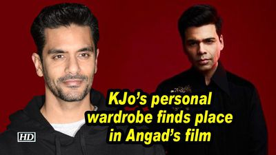 Kjos personal wardrobe finds place in angads film