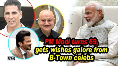 Pm modi turns 69 gets wishes galore from btown celebs